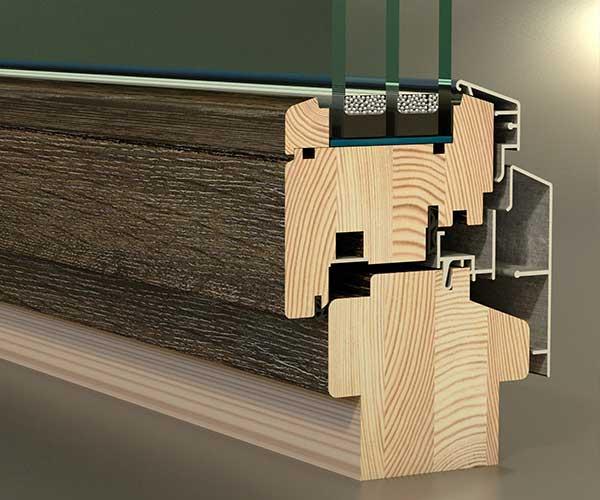 3d модели деревянных окон различных профилей
