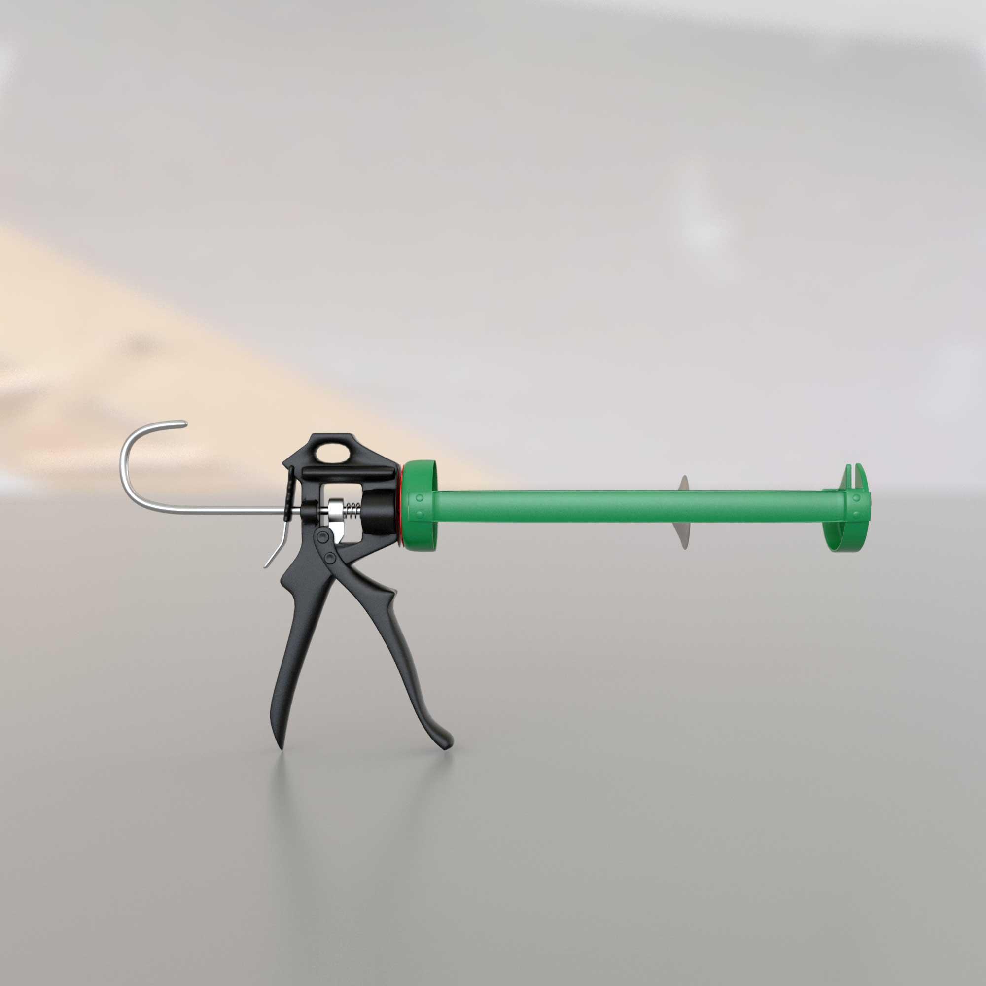 3Д модель строительного механического пистолета для герметика