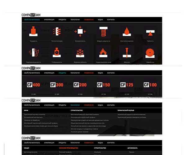 Создание и разработка сайта о конструкционном теплом материале